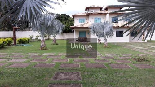 Imagem 1 de 13 de Casa Com 4 Dormitórios À Venda, 120 M² Por R$ 750.000 - Manguinhos - Armação Dos Búzios/rj - Ca1096