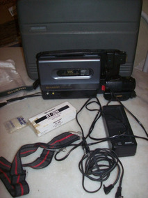 Filmadora Sharp - Slim Cam - Vl-l 50b - C/ Maleta Original