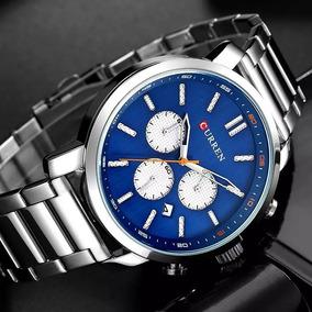 Curren Reloj Elegante Hombre. Acero Inoxidable.