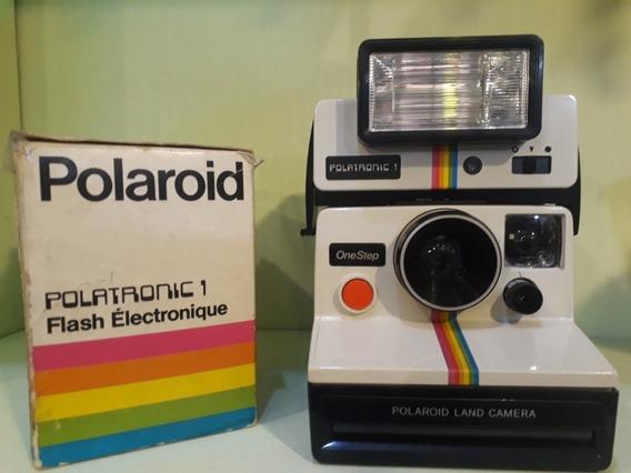 Polaroid Land Camera One Step Com Flash Original
