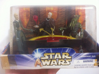 Star War Attack Of The Clones Packs Consejo Jedi