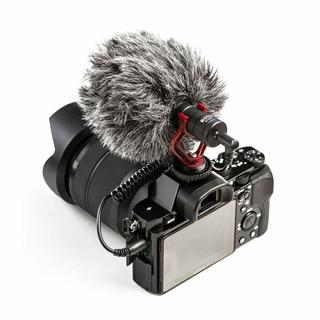 Micrófono Shotgun Cardiode Para Dslr Y Smartphone | By Mm1.