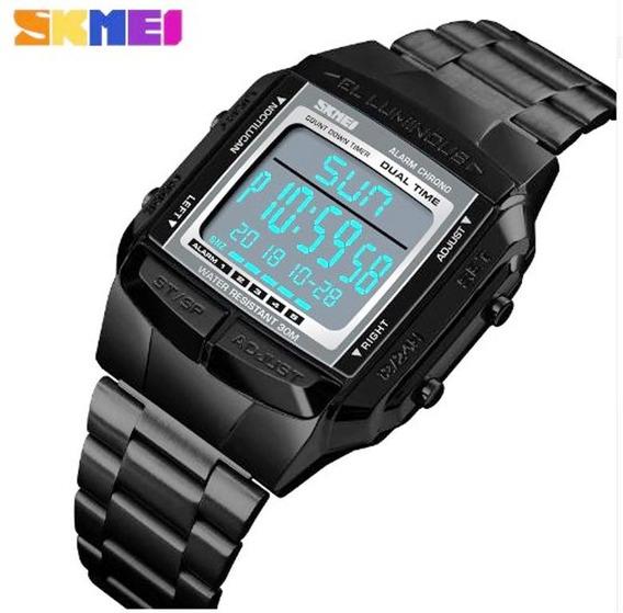 Relógio Pulso Masculino Digital Wp1381 Skmei