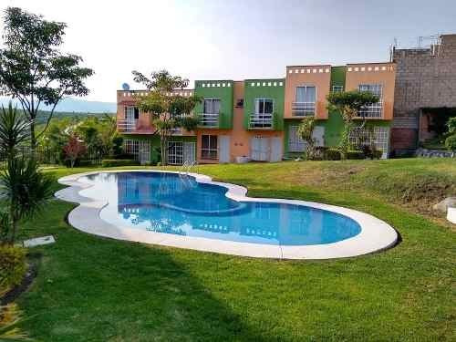 Bonita Casa Con Alberca En Fracc Campo Verde Temixco