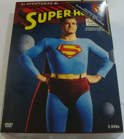 Box Original As Aventuras Do Superman - 1ª Temporada 5 Dvd