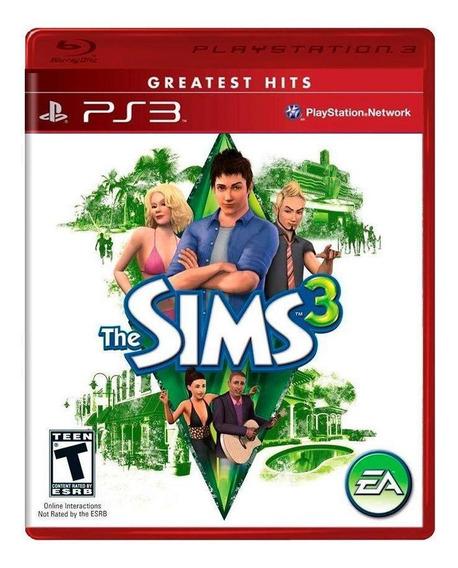 The Sims 3 Ps3 Mídia Física Novo Lacrado