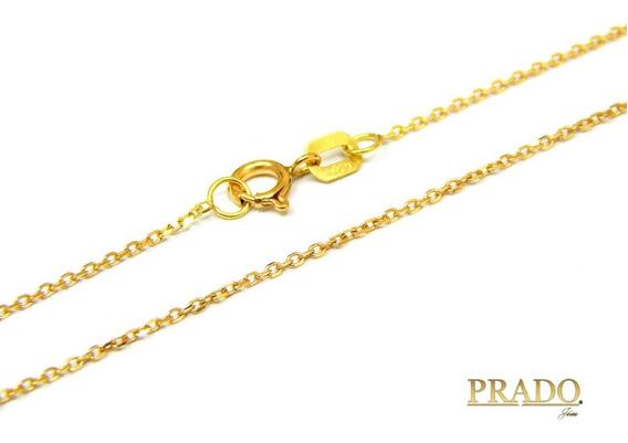Corrente Cartier Maciça 60cm Em Ouro 18k