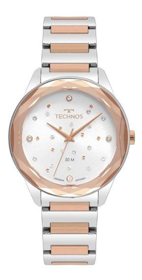 Relógio Technos Feminino Crystal Elegance 2036mki/4c Rose