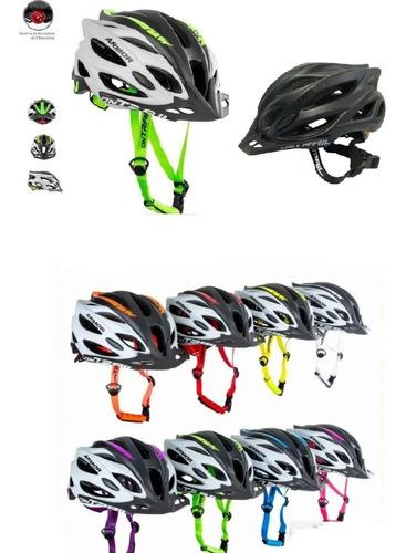 Casco Barato Bicicleta Mtb-ruta Ontrail Armor Luz Trasera