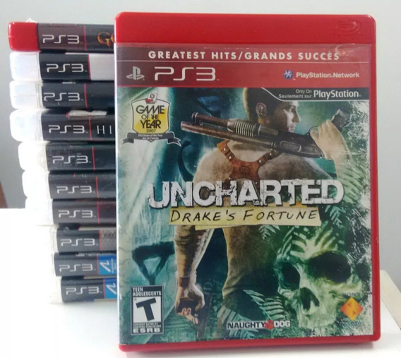Uncharted Drakes Fortune- Ps3 -edição Greatest Hits Lacrado