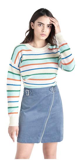 Falda Mini De Mujer C&a 1054366