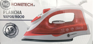 Plancha De Vapor Rocio Antiadherente Hometech 1000w