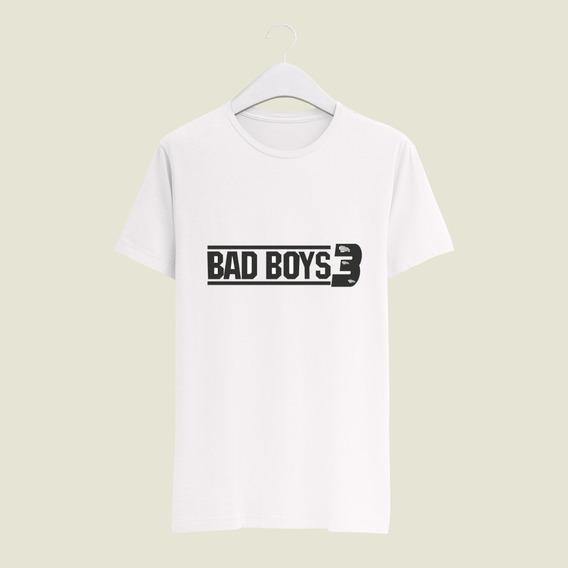 Playera Yasbek Sublimada Bad Boys 3 Peliculas