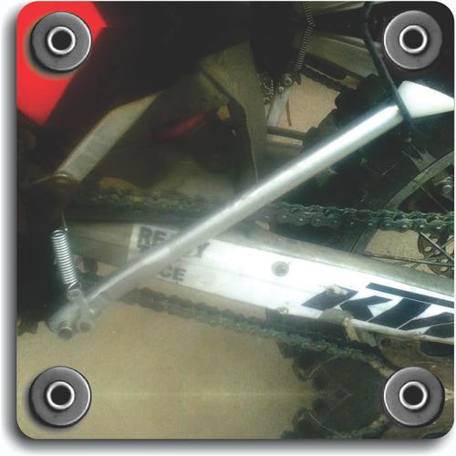 Imagen 1 de 1 de Muleta Lateral Acero Inoxidable Ktm 200 Exc 2003-2007
