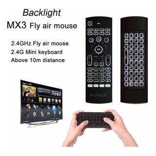 Teclado Air Mouse Para Tv Box, Pc, Proyector