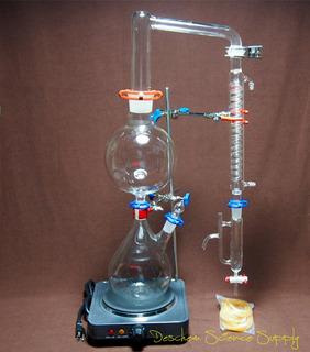 Destilador Para Aceites Esenciales 2000ml Con Calentador
