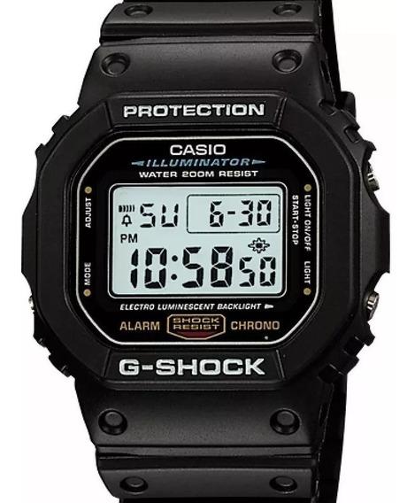 Relógio Masculino Casio G-shock Dw-5600e-1 Original (3229)