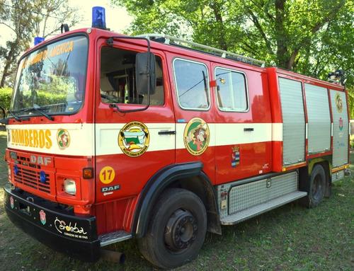 Camion Autobomba  Daf 1300 Turbo