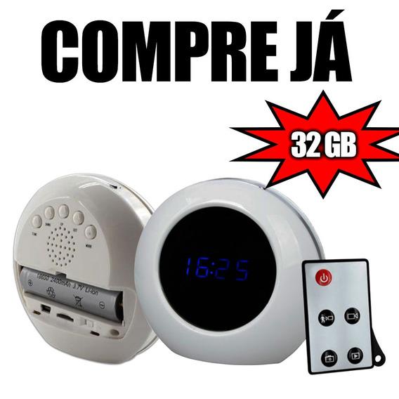 Camera De Seguranca Cameras Pequenas Escondida Em Casa 32gb