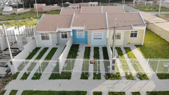 Casa Em Estados, Fazenda Rio Grande/pr De 43m² 2 Quartos À Venda Por R$ 132.000,00 - Ca426846