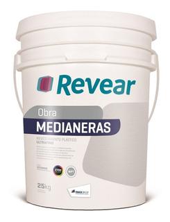 Revear Medianeras Revestimiento Bco/color 25kg 3598 Pintumm