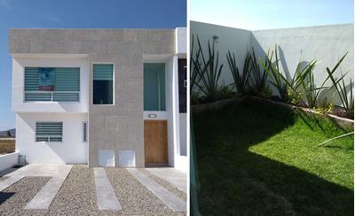 Vive En Grand Juriquilla, Alberca, 3 Recámaras, Jardín, 2.5 Baños, Equipada !!