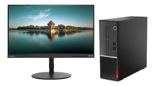 Pc Lenovo V50s I7 32gb 1tb 240gb W10 H + Monitor T22i-10 Fhd