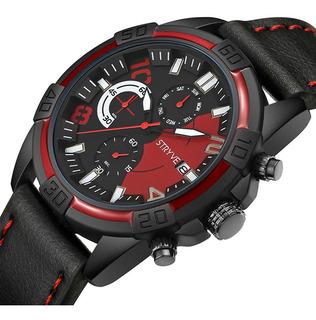 Stryve S1001_cronómetro_deportivo_cuero_calidad_categoria