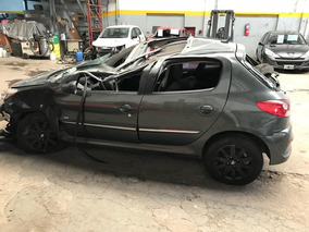 Peugeot 207 1.4 Xt Hdi 2011 Chocado Volcado Reparar Chapista