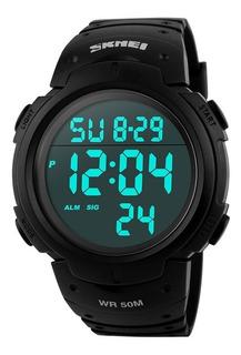 Reloj Skmei Hombre Mujer Cronometro Sumergible - Deportivo