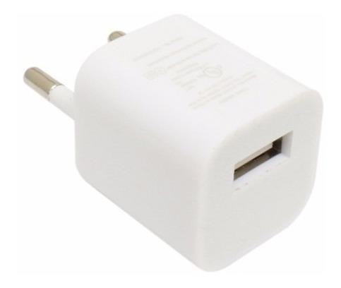 Adaptador/carregador Usb 1000ma Para Tomada (pino Redondo)