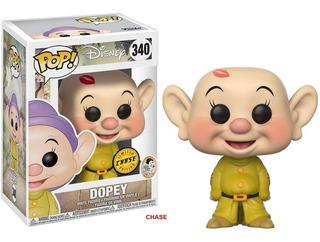 Muñeco Funko Pop Dopey Chase Disney Blancanieves Esp Rdf1