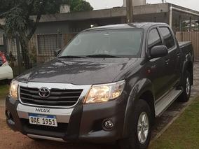 Toyota Hilux 2.7 Cd Srv Vvti 4x4 - A3 2015