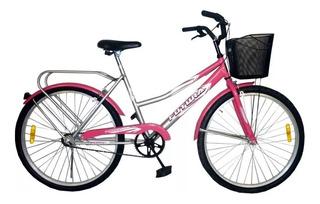 Bicicleta Futura R26 Paseo Dama Canasto Country 3577