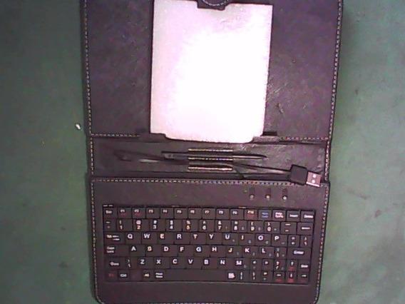Capa Com Teclado Para Tablet 7 (dvn-285)