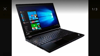 Laptop Lenova Thinkpad L560 Core 5, 8 Gb Pantalla 15.6 Nueva