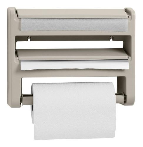 Porta Rollo De Papel Toalla Aluminio Portarrollo Roll Holder