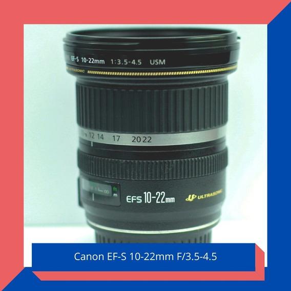 Lente Canon 10-22mm