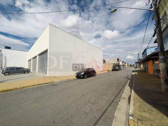 Terreno Em Área Comercial Em Calmon Viana, Poá/sp. 662 M2 - Te0079