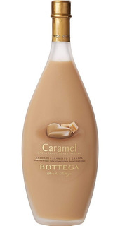 Licor Bottega Fior Di Latte Caramelo Italiano Envio Gratis