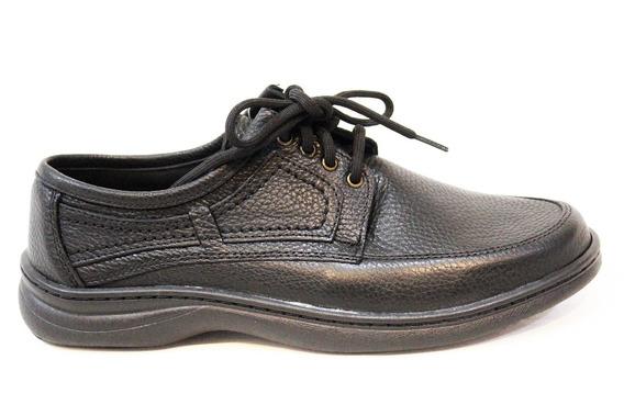 Zapato Cuero Hombre Acordonado Art 6085. Marca Free Comfort