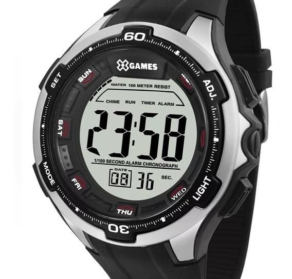 Relógio X-games Masculino Digital Preto Original Barato
