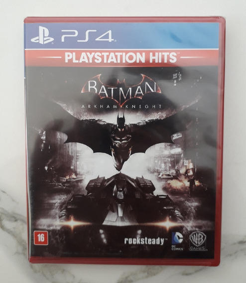 Batman Arkham Knight Ps4 Em Português Lacrado Midia Fisica