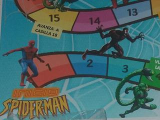 Juego De La Oca 1 Spiderman