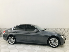 Bmw 328i Luxury 2.0 16v 2013 Cinza 2013 Teto Solar Top