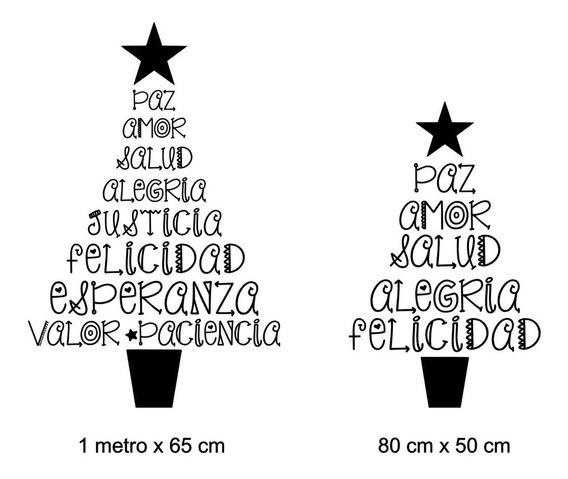 Vinilo Navidad Ideal Vidrieras Paredes Grande Frase