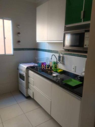 Imagem 1 de 16 de Apartamento Com 1 Dormitório À Venda, 47 M² Por R$ 265.000,00 - Reserva Das Videiras - Louveira/sp - Ap0745