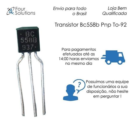 Transistor Bc558b Pnp To-92