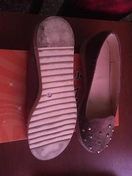 Zapatos Chatitas Con Tachas Nro 37