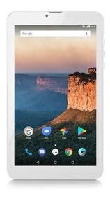 Tablet Multilaser M9 3g Quad Core 8gb 1gb Tela 9 Prata